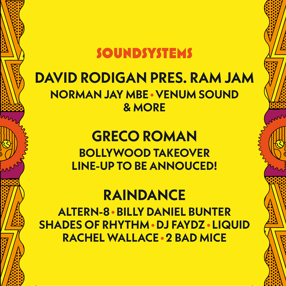 Raindance at Camp Bestival 2017